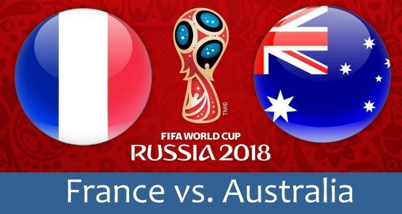 KÈO VÒNG BẢNG WORLD CUP 2018 GIỮA PHÁP VS AUSTRALIA