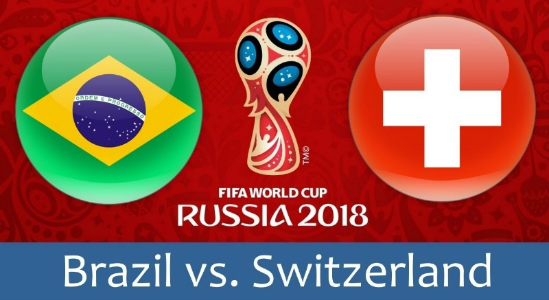 KÈO VÒNG BẢNG WORLD CUP 2018 TRẬN BRAZIL VS THỤY SĨ