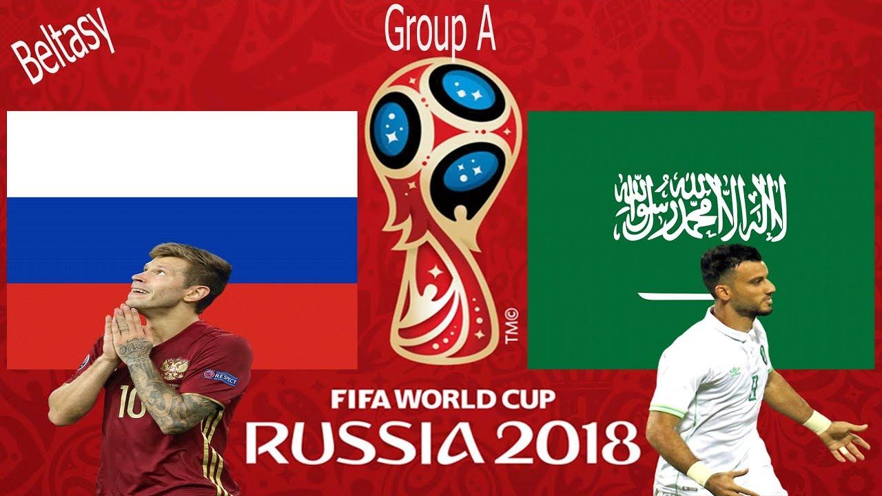 Kèo trận khai mạc World Cup 2018 giữa Nga và Ả Rập Xê Út